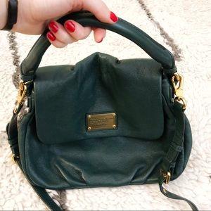 Beautiful Marc Jacobs emerald green handbag
